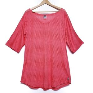 O'Neill | Coral open knit beach swim suit cover-up
